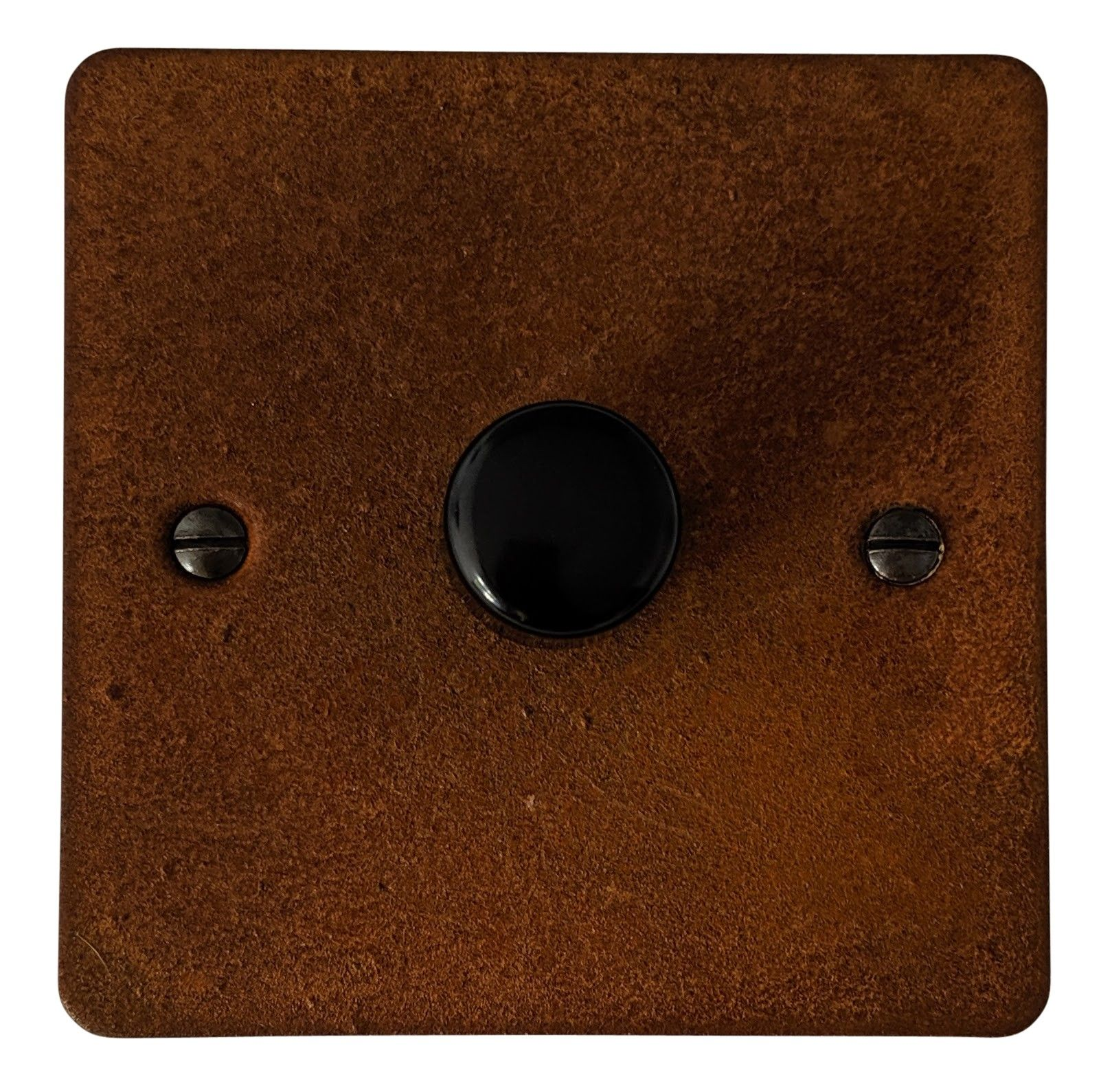 G&H FRT11 Flat Plate Rust 1 Gang 1 or 2 Way 40-400W Dimmer Switch