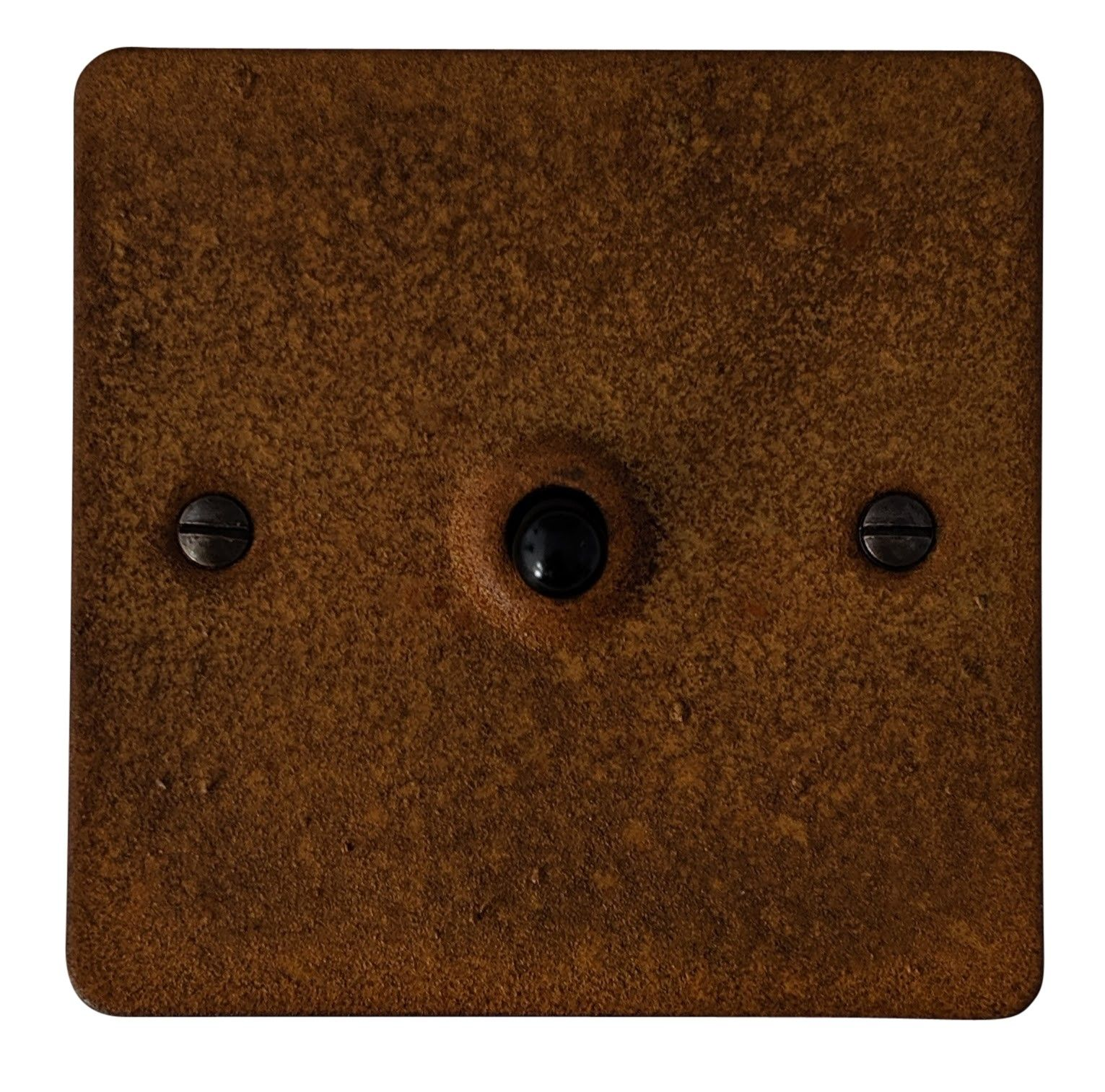 G&H FRT281 Flat Plate Rust 1 Gang 1 or 2 Way Toggle Light Switch